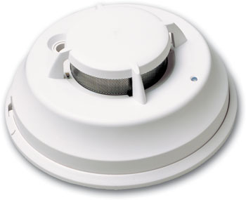 DSC Residential Wired Photoelectric Smoke Detector